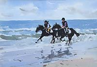 Riders on the Beach 2 - Holme