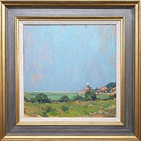 Cley Mill in Summer painting for sale