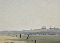D Arkwright Cley watercolour