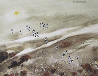 Hugh Brandon-CoxLapwings Over Marsh