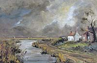Shirley Carnt Brancaster Staith painting for sale
