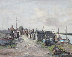 Jack Cox Wells Fishing Sheds and Quay