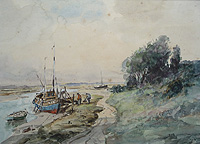 Boats in Estuary