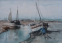 Boats in Creek