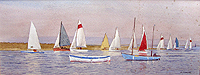 Sail boats Blakeney	 A  Dunnigan