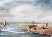 Dorothy Garnett - Blakeney Harbour