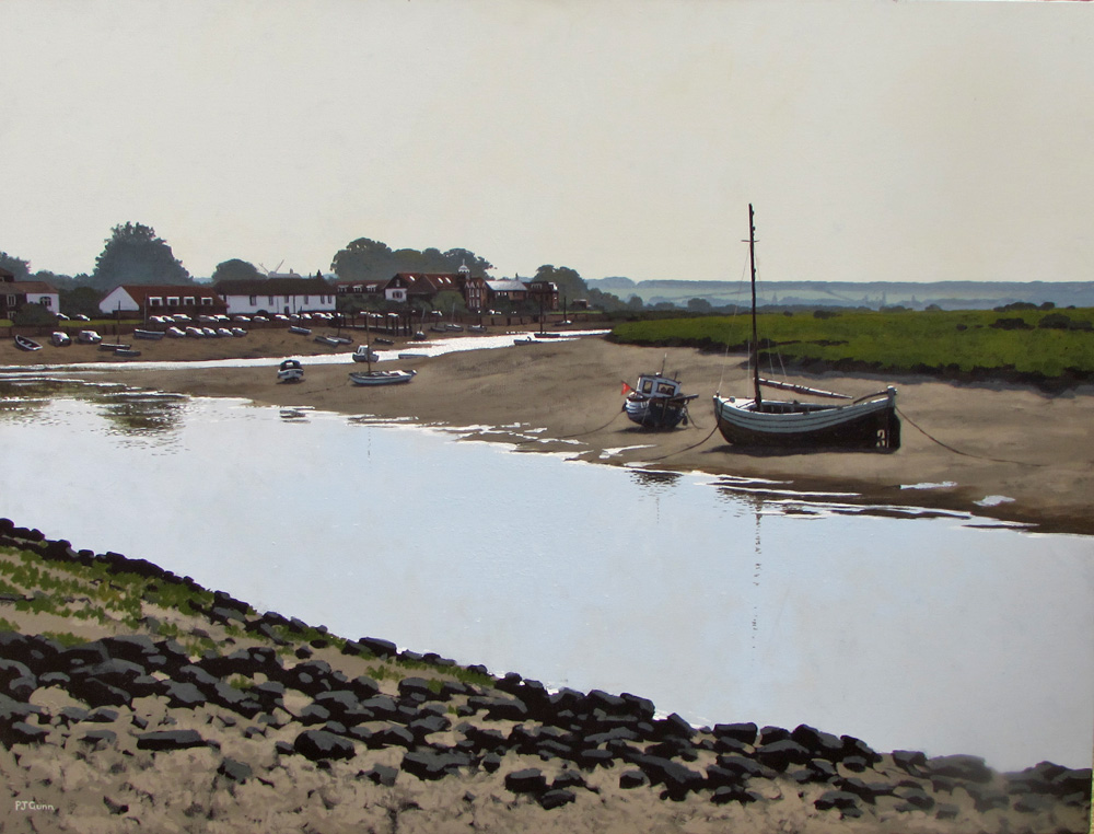 Paul Gunn painting for sale Burnham Overy