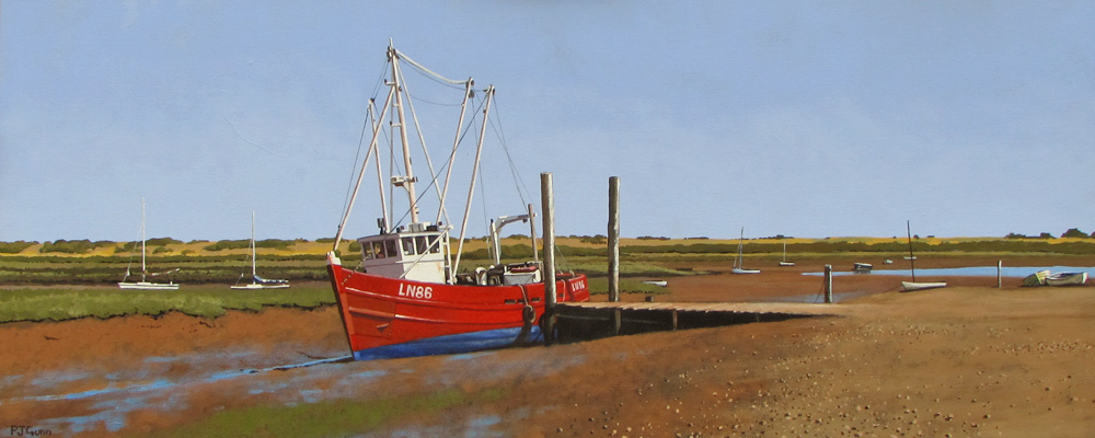 Original Oil Painting Norfolk