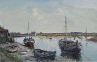 Jack Cox Wells Norfolk watercolour for sale