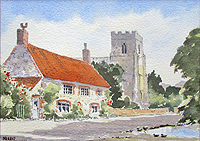 Old Hunstanton village	Austin Pearce