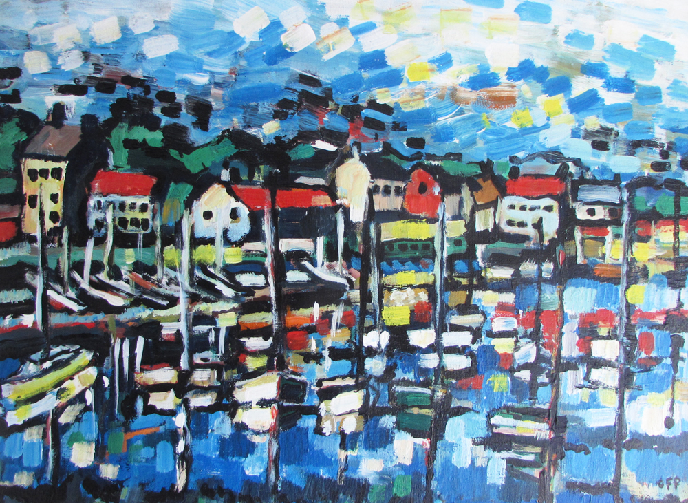 Olivia Pilling Painting - Burnham Overy Staithe Harbour