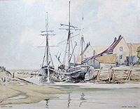 Blakeney harbour 1820	Godfrey  Sayer
