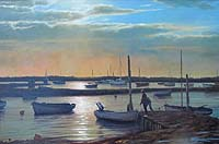 John Trickett - After the Rain, Brancaster Staithe
