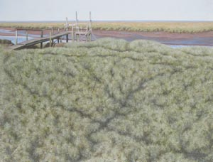 Wilczur Painting - Thornham Jetty