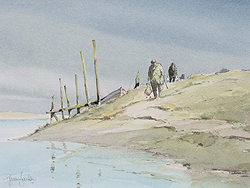 Jeremy Barlow Wildfowlers At Morston