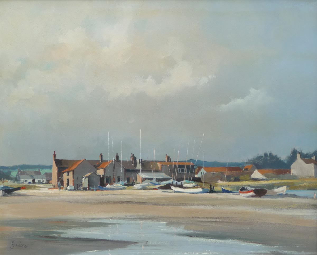Jeremy Barlow painting for sale -  Wells nxt the sea East Hills