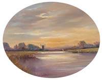 Carnt Painting - Thurning Mill