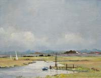 Carnt Painting - Thornham Creek