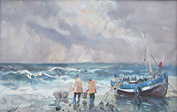 Jack Cox Norfolk FIshermen