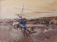 Boats at Wells by Jack Cox