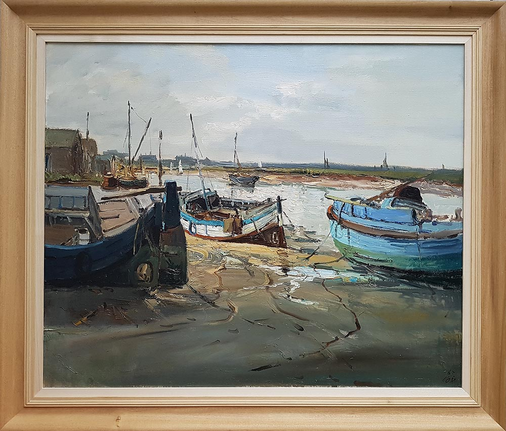 Jack Cox painting for sale - Wells next the Sea
