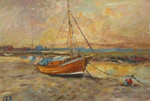 Wells next the Sea - Jack Cox painting for sale