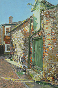 Margaret Glass Painting of Holt for sale