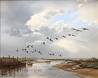Morston  Salt marsh from blakeney	Keith Hastings