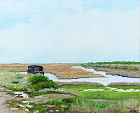 Burnham Norfolk painting