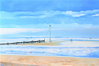 Barbara King painting for sale - Thornham