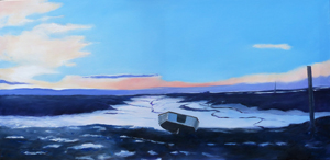 Barbara King painting for sale - Brancaster Staithe