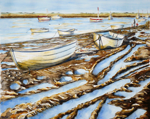 Barbara King painting for sale - Brancaster