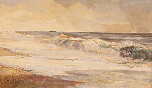 Cley Beach 	Cavendish Morton  painting for sale